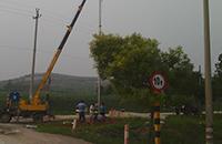 南水北调某段公路桥无线监控